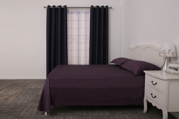 Allbright cotton plain dyed chinese wholesale bedspreads single flat sheet