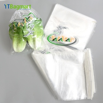 YTBagmart Customized Clear Plastic Fresh Vegetables Packing Bags Plastic Micro Perforated Food Bread Wicket Bag