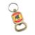 High quality wholesales custom logo metal keychains no minimum