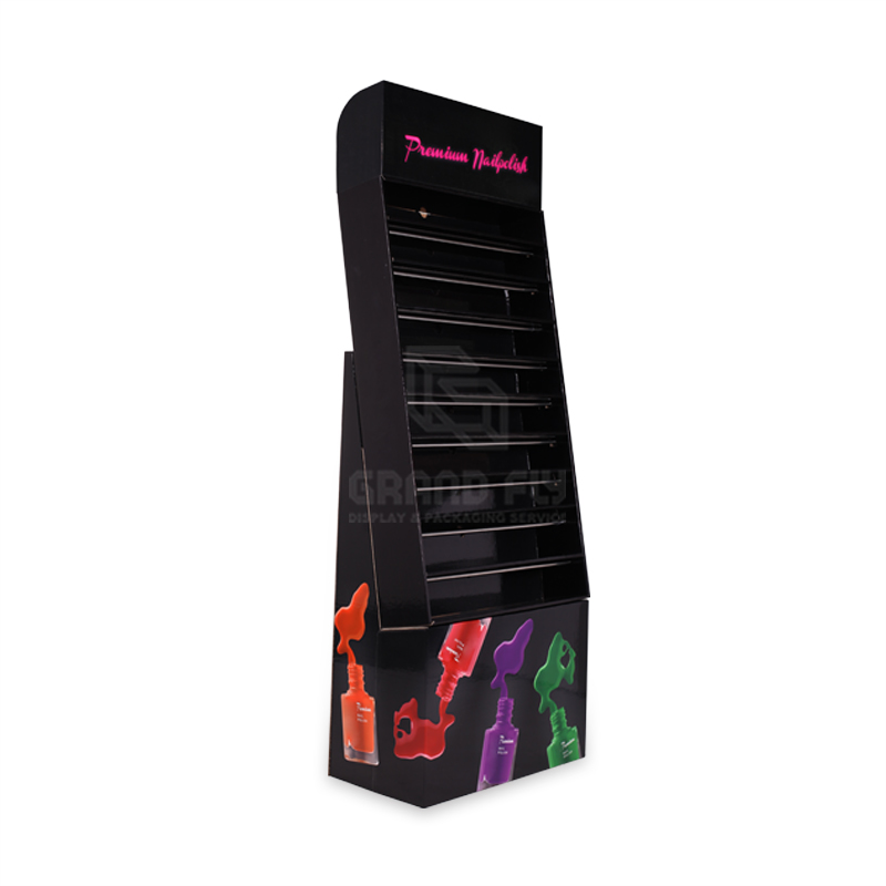 Karton Nagellack Stand Racks Display wellpappe display-ständer