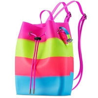 Silicone Backpack Bag Waterproof Scented Swimming Bag Custom Silicone Shoulder Bag