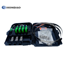 Hondao OTB-8A Fiber Optic 8 Core Rackmount Kabel Fiber Optic FTTH Terminal Box/Distribution Box dengan SC LC FC adaptor