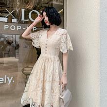 Платье wei yin AE0443 Roeb De Soriee, элегантное кружевное короткое платье для выпускного Шампань, вечернее платье с коротким рукавом и вырезом лодочкой...(Китай)