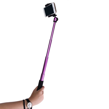 New Aluminum Alloy Wireless Bluetooth Flexible Foldable Extendable Long Mini Mobile Phone Selfie Stick Monopod