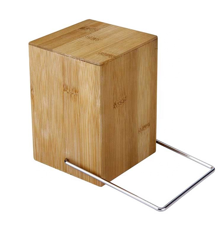 High Quality Bamboo Utensil Holder Utensil Dividers for Flatware And Kitchen Utensils 7