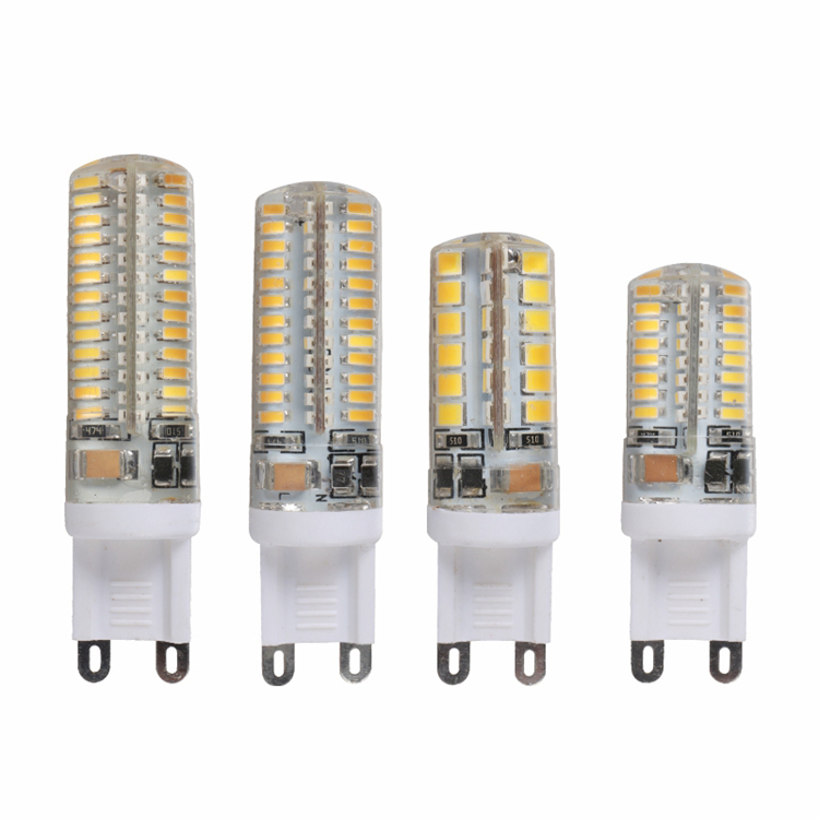 LED G9 Lamp AC 220V G9 LED Bulb SMD2835 3014 48 64 96 104LEDs Lampada LED 360 degrees Replace Halogen Bulb