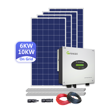 Energy conservation Complicated production 5kw solar panel energy system with inverter