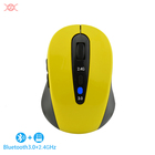 Stock Mouse Mini Optical Bluetooth 3.0 Wireless Mouse 6D Computer Mini 2.4G Mouse Optical Dual Mode Mice Computer Accessory