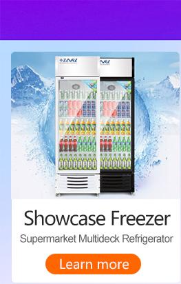 China Commercial Retro Husky Lowes 20L 2 3 ประตู MINI เลื่อนประตูตู้เย็นและตู้แช่แข็งตู้เย็นสำหรับ Meat Shop