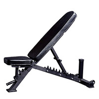 Fitness equipment adjustable dumbbell weight bench for strength training