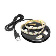 5 В USB RGB светодиодный светильник для кухни, 5050 Светодиодный светильник для шкафа, с пультом дистанционного управления, водонепроницаемый св...(Китай)