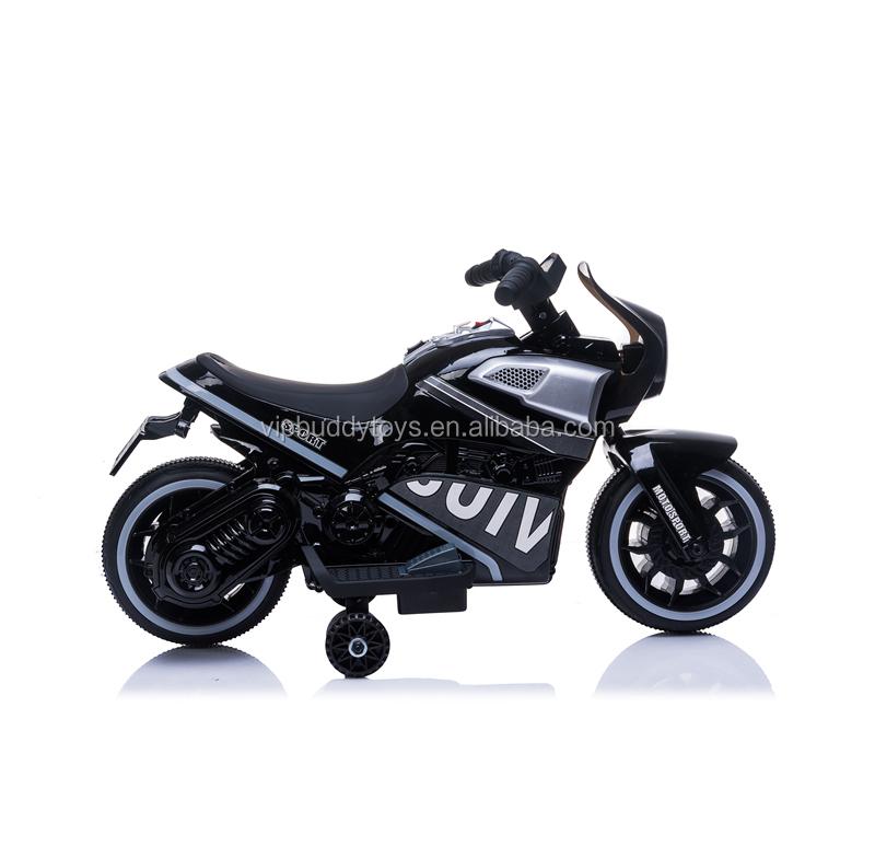 Nuevo barato paseo en juguetes dos ruedas eléctrico moto de la motocicleta de la bici de la suciedad bicicleta con batería