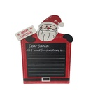 Factory Delivery Price Wood Handicraft Blackboard Christmas Crafts