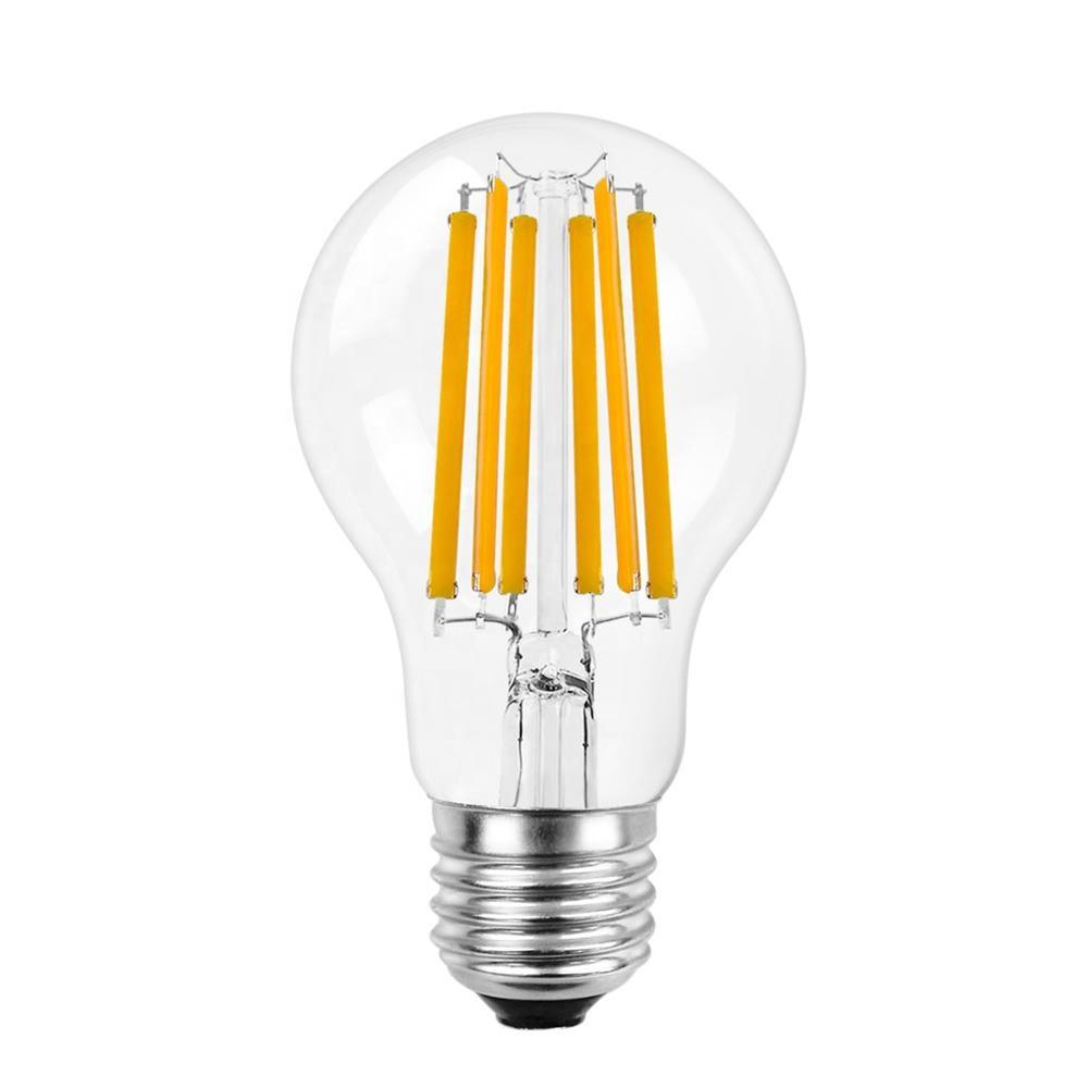 High Brightness 11W A19 A60 LED Filament Light Bulb 1521LM