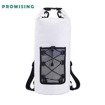 PVC Floating Waterproof Transparent Food Rucksack Tarpaulin Printing Roll Top Cooler Backpack dry bag rucksack