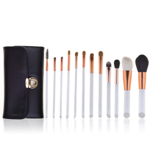 12 pcs synthetische make-up pinsel sets