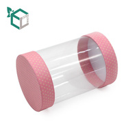 Custom packaging clear PVC transparent plastic paper box