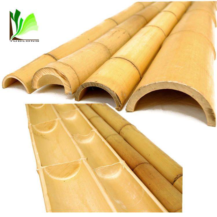 Moso Type Treated Bamboo Poles