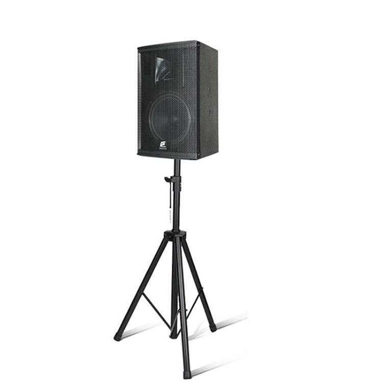 Height adjustable tripod speaker stand audio speaker stand