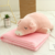 High Quality soft cute animal pillow blanket 2 in 1 travel office blanket for Children or Adult