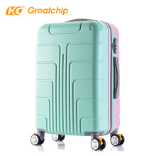 Gratis Monster Trolley Rolling Set Reizen Koffer Tas Hand Cabine <span class=keywords><strong>Bagage</strong></span>