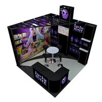 TANFU Corner Exhibition Trade Show Booth