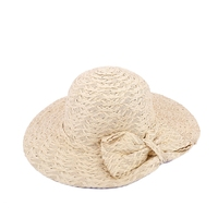 Cute Straw Bow-Knot Sun Protection Hat