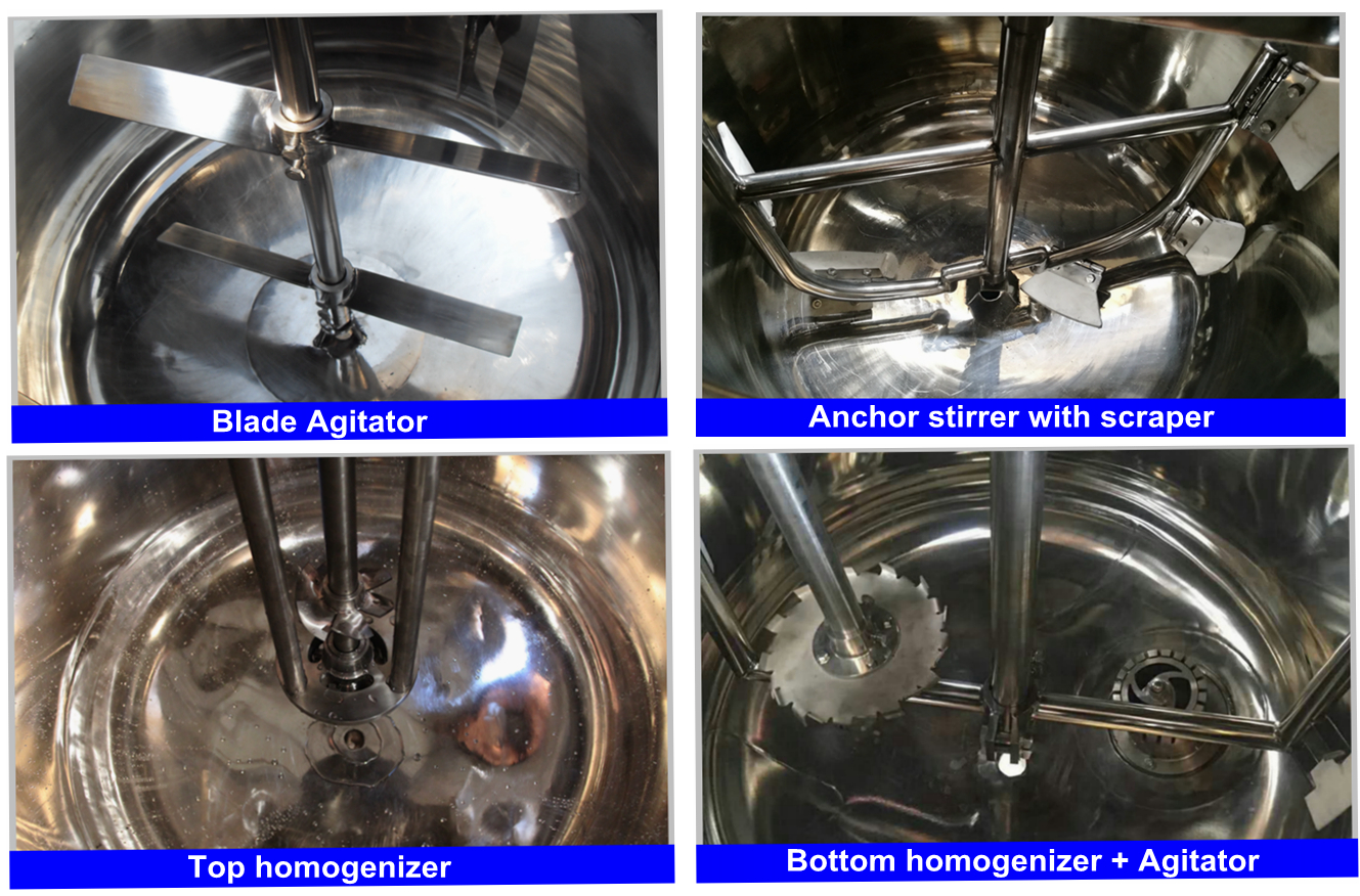 Liquid soap making machine equipment mixing tank