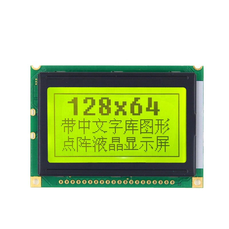 Hot selling 128x64 Graphic Display Monochrome 12864 Lcd Module