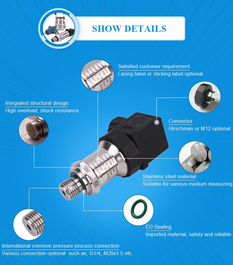 Dijital seviye sensörü su viskozite sensörü su basınç sensörü