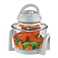 7L Perfect cooker home use electric halogen oven convection oven aerogrill oven turbo air fryer