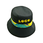 Wholesale 100% cotton good quality terry towel bucket hat printed or embroidery your custom logo