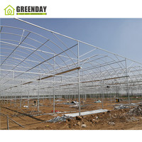 GREENDAY Chinese air conditioned climate control greenhouse