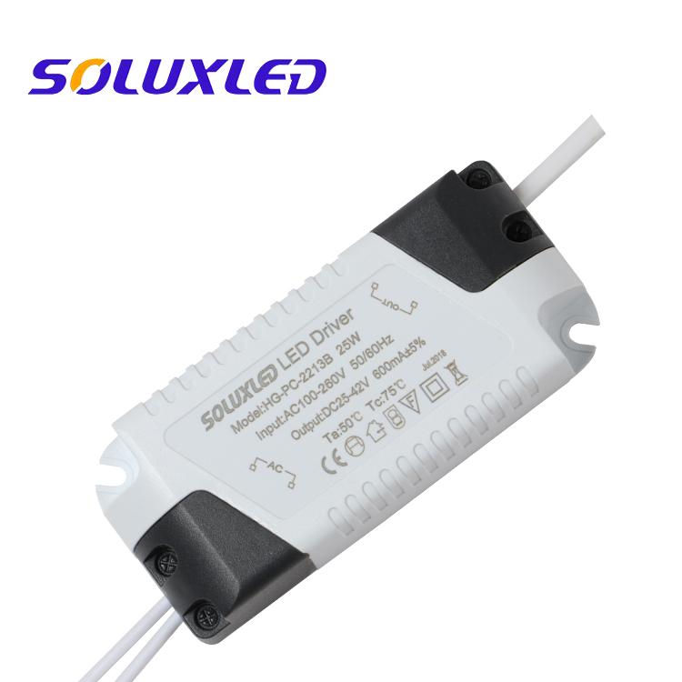 18-24W 280ma 300mA 580ma 600ma  LED DRIVER for PANEL LIGHT