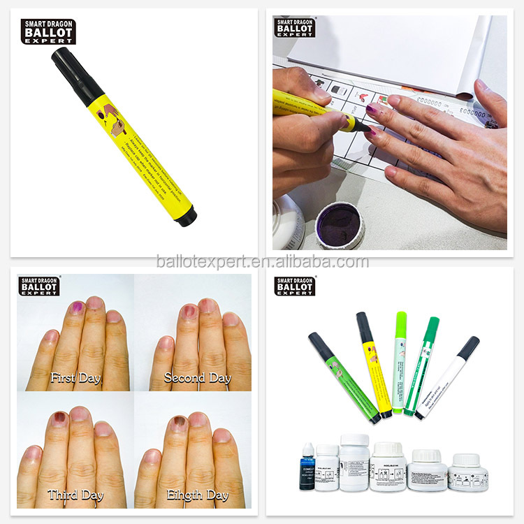 Election Campaign Remain Time 72 Hours Silver Nitrate Election Indelible Ink Marker Pen