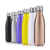 Cola Shaped 500ml double wall stainless steel water bottle thermos vacuum flask