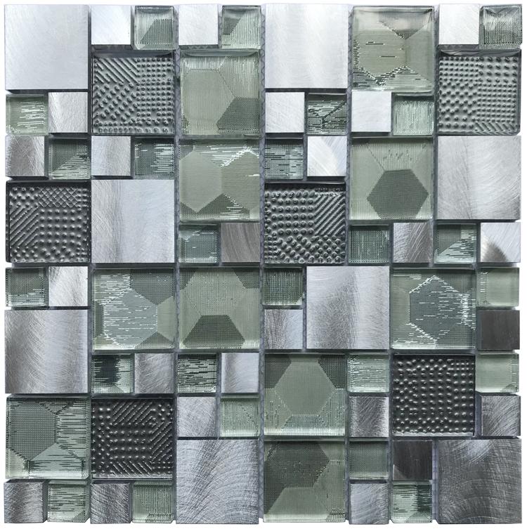Kitchen Wall Panels Aluminium Alloyed Mosaics Buy Aluminium Alloyed Mosaics Mosaic Wall Panels Kitchen Wall Mosaic Product On Alibaba Com