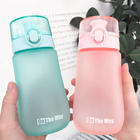 Wholesale Colorful LeakProof Outdoor Sports Vacuum Insulated Frosted Plastic Water Bottle