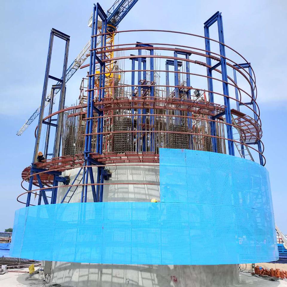Chinese facade safe high efficiency construction climbing formwork