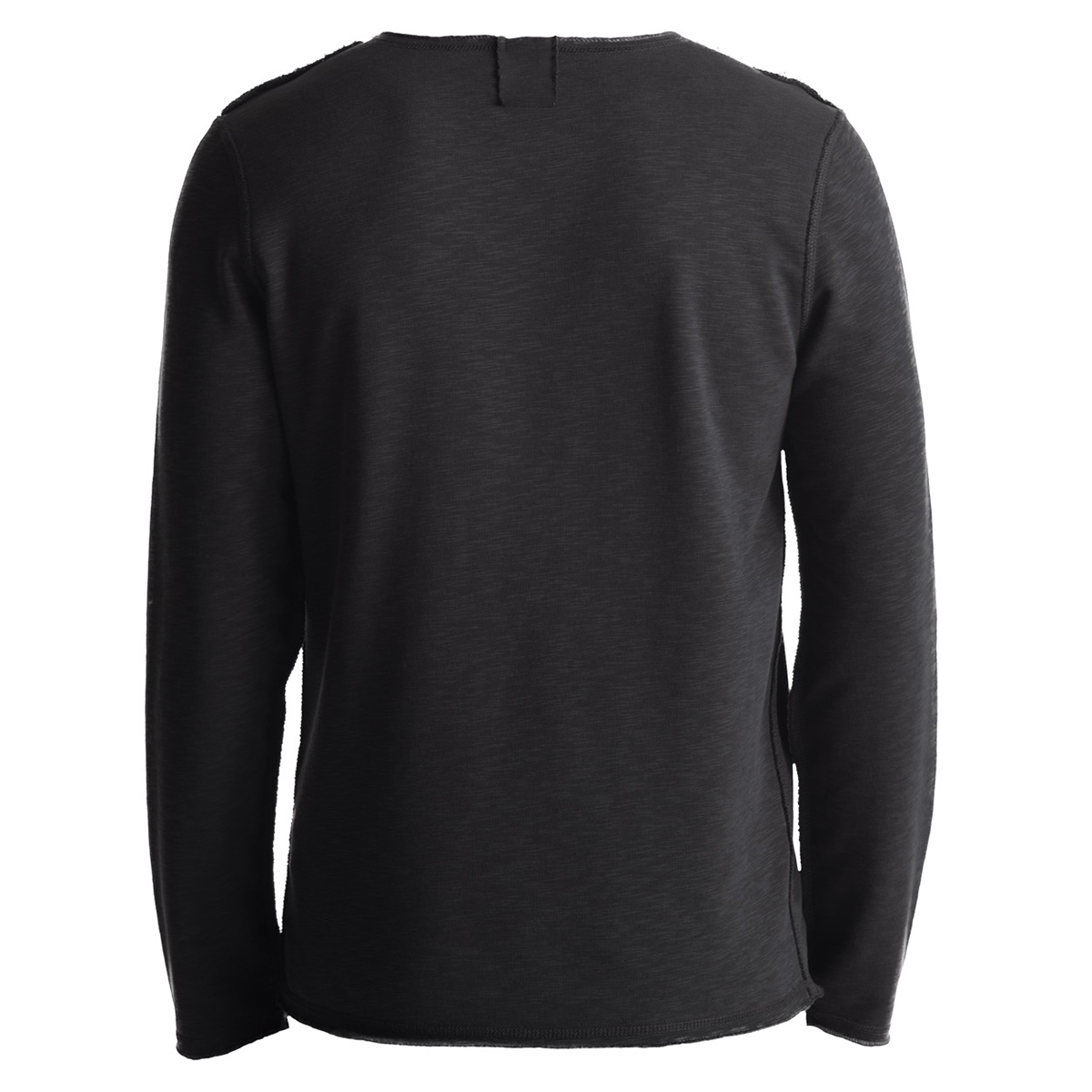 custom pullover o-neck 100% cotton mens sweatshirt without hood