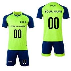 Новые продукты футбольный Джерси Набор заказной футбол с логотипом и цифрами пустые майки Сделано в Китае
