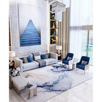 Cynthia Wholesale Cheap Price New Colleactions Modern White Home Centre Rug For Drawing Room