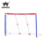 2-In-1 design outdoor paly sports soccer goal post and net for sale