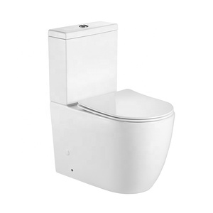 High quality Modern Bathroom Toilet Ceramic One Piece Toilet Bowl With P-trap
