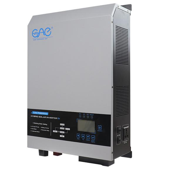 2kw 3kw 4kw 5kw 6kw 24vdc 48vdc 110vac 220vac power inverter sine wave 8000w solar hybrid pure sine wave inverter