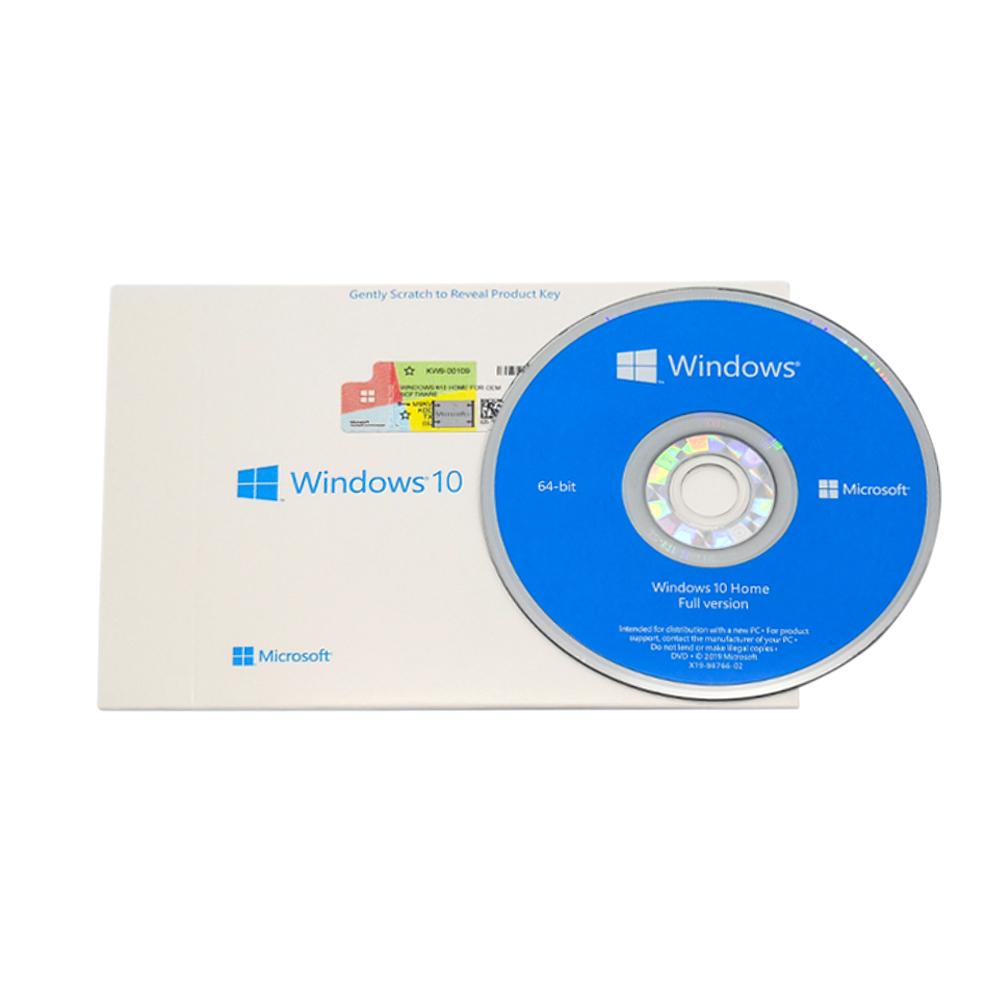 Gratis Verzending Echt Oem Pakket Win 10 Professionele Fpp Microsoft Windows 10 Pro Software Downloaden 64 Bit Dvd Licentie