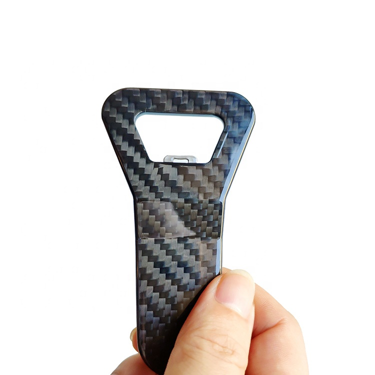 Multistyle strong and light <strong>carbon</strong> fiber wine bottle opener