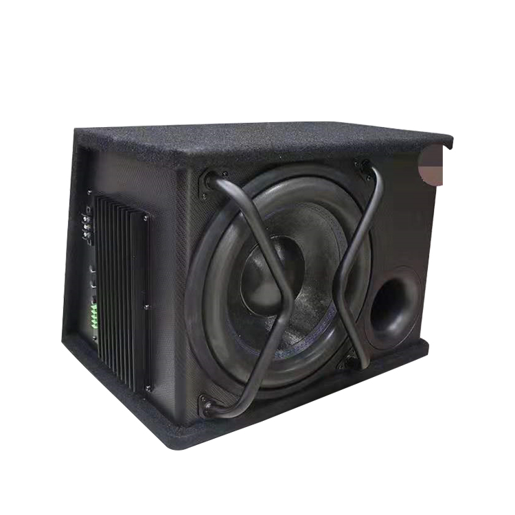 Quick Shipping Wholesale 12inch 2000W Powered Subwoofer Car Audio Active Subwoofer Box