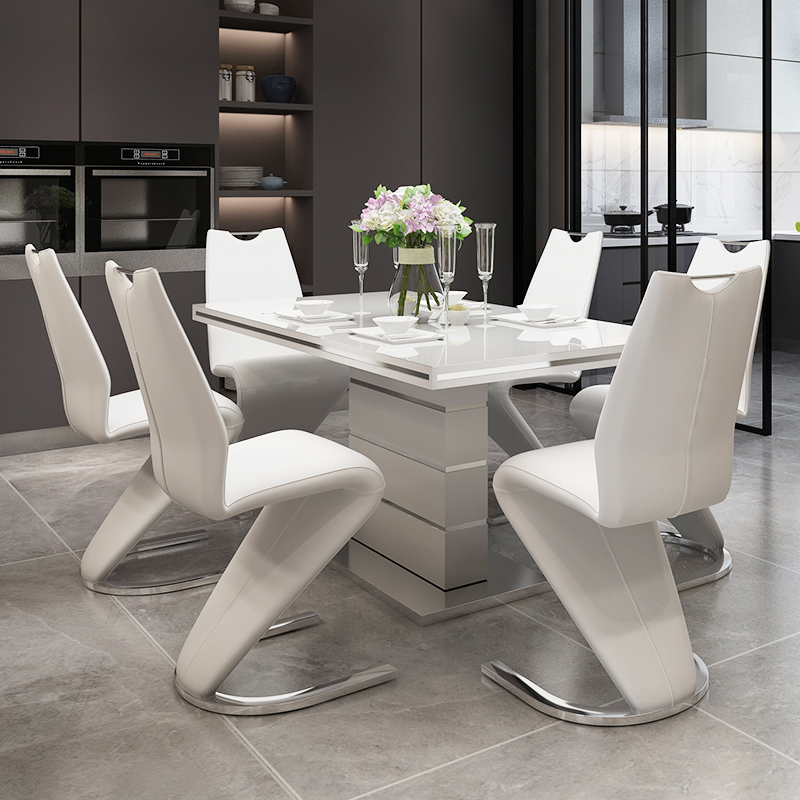 design modern dining table set dining room furniture table and chairs for dining room