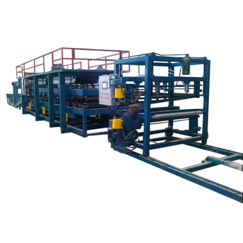 High quality eps sandwich panel roof and wall panel roll forming machine production line